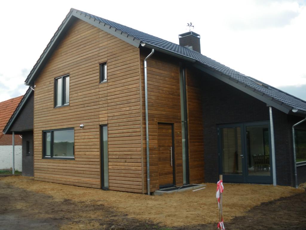 Verbouw woning bouwbedrijf beltman - Stenen huis uitbreiding ...